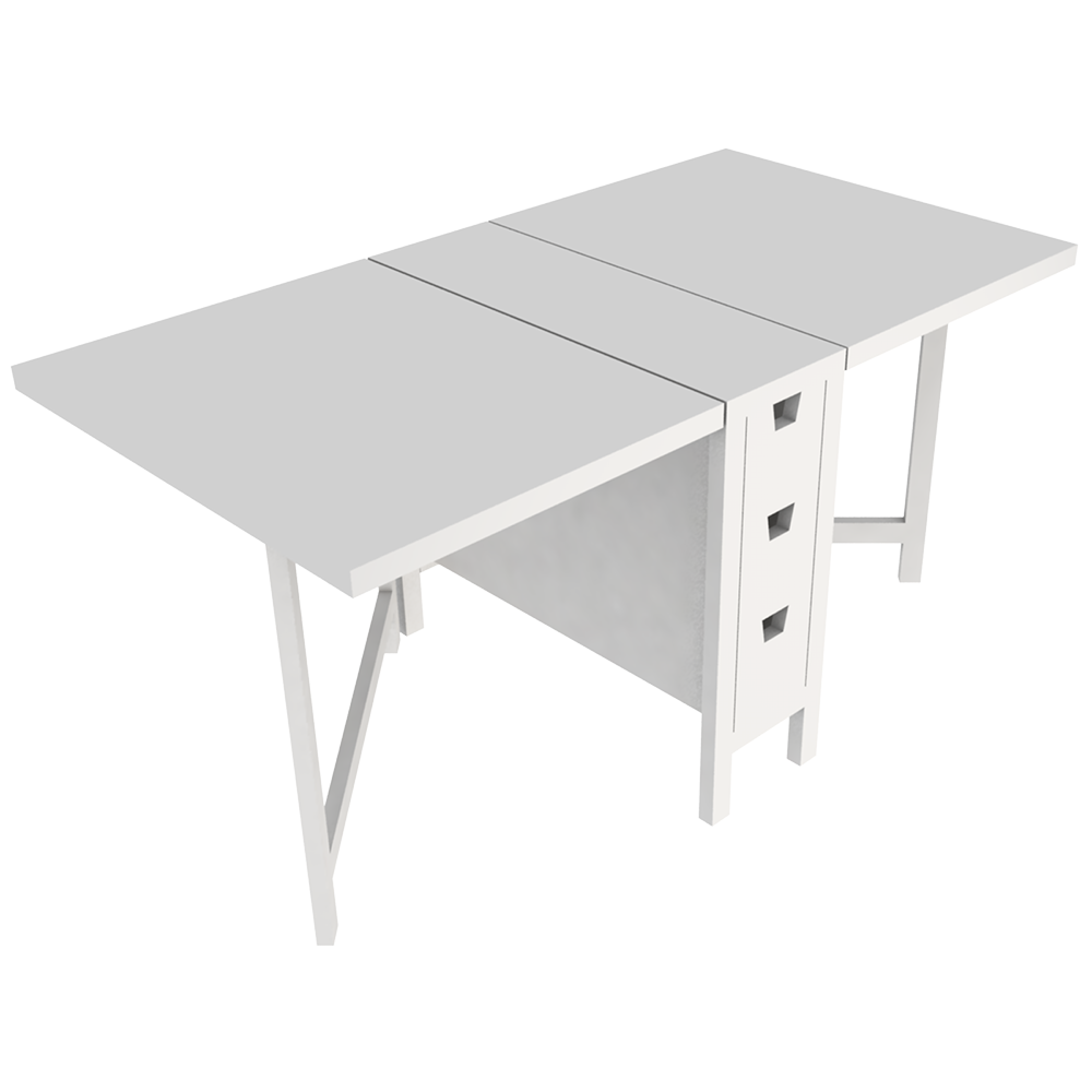 bim nesne norden folding table ikea. Black Bedroom Furniture Sets. Home Design Ideas