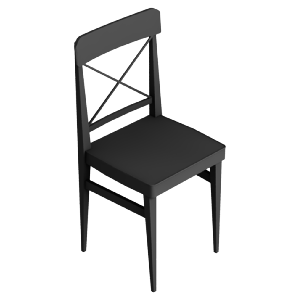 oggetto bim ingolf chair ikea. Black Bedroom Furniture Sets. Home Design Ideas