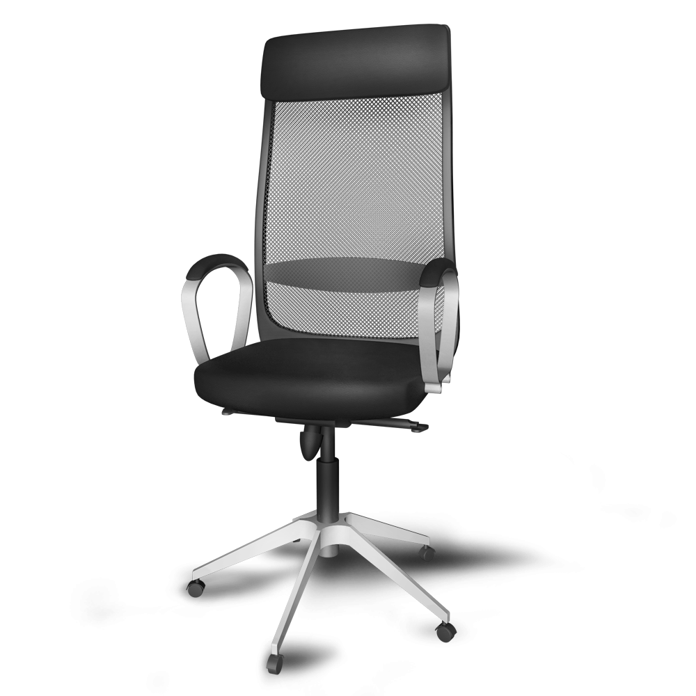 Markus Swivel Chair 3d View