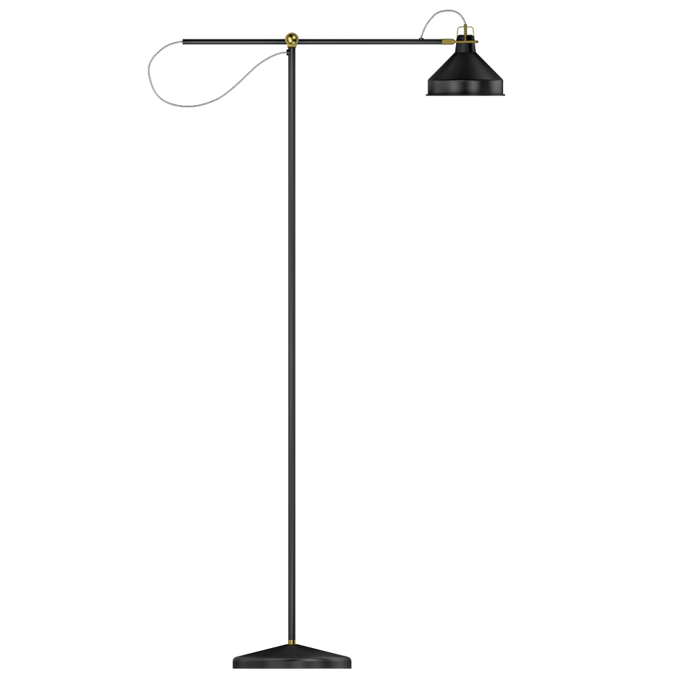 Obiekt bim ranarp floor lamp ikea for Ranarp white floor lamp