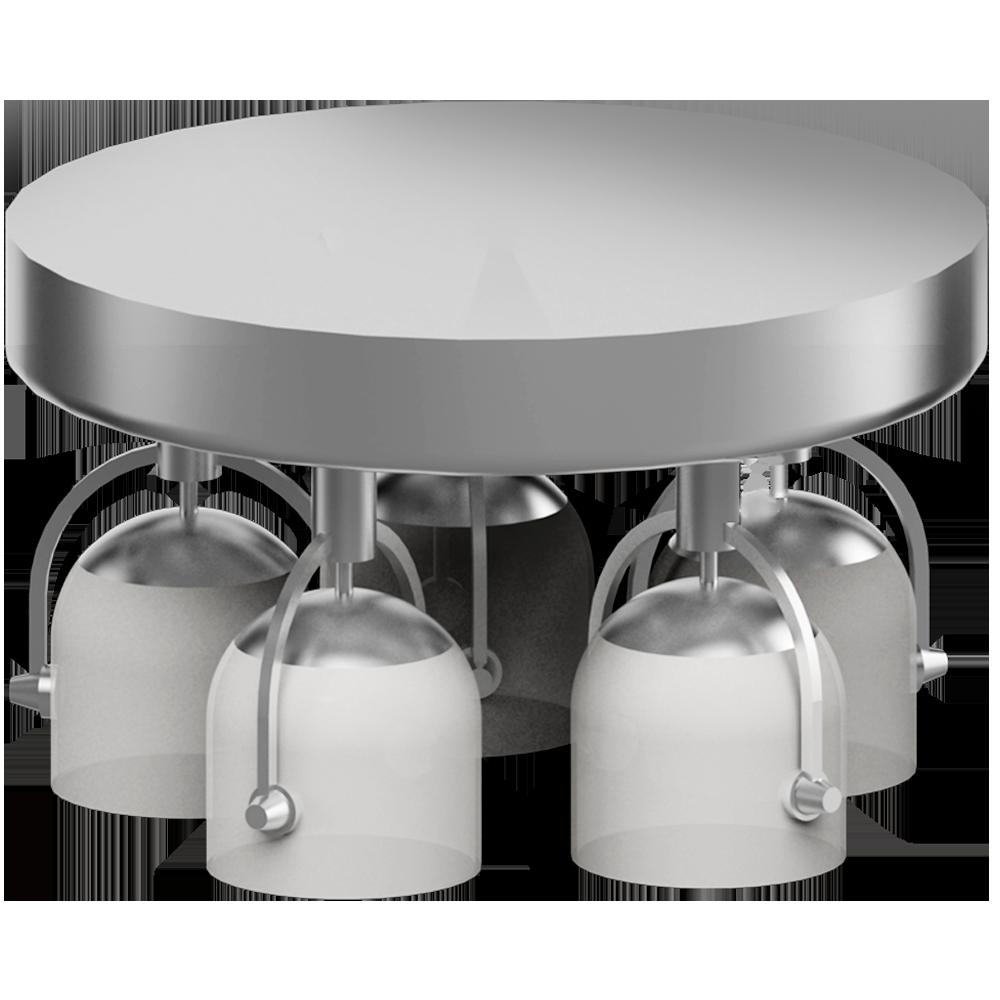 objets bim et cao svirvel plafonnier 5 spots ikea. Black Bedroom Furniture Sets. Home Design Ideas