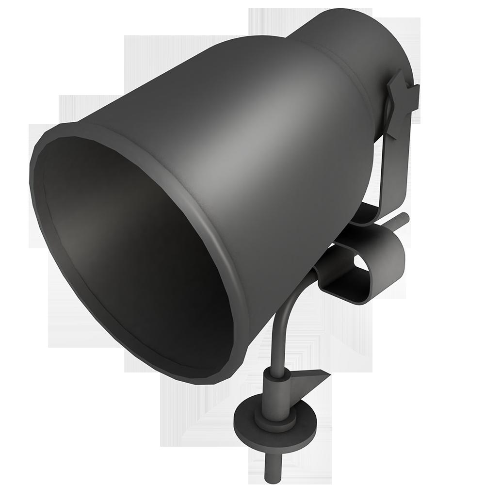 HEKTAR Spotlight with Clamp
