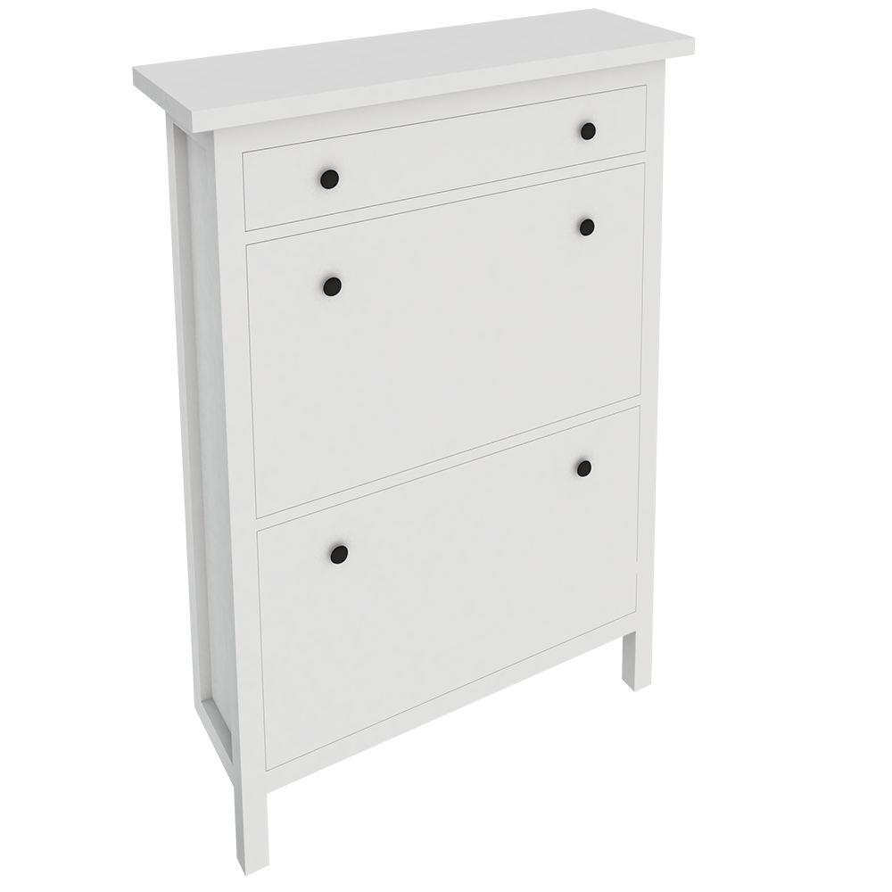 HEMNES Range Shoes with 2 Compartments