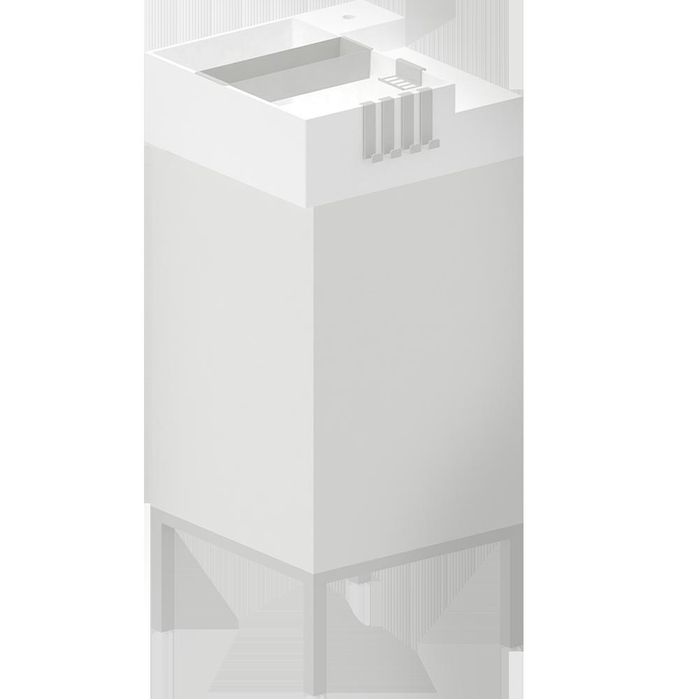 Objeto Bim Y Cad Lillangen Mueble Bajo Lavabo Con 1 Puerta Ikea # Muebles Bajo Lavabo Ikea