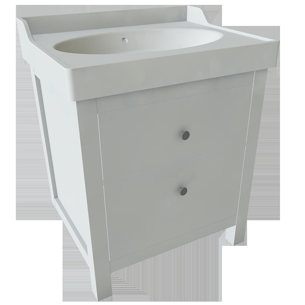 HEMNES RATTVIKEN 2 Drawer Washbasin Unit