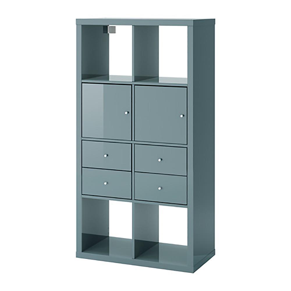 Objeto bim y cad kallax estante con 4 accesorios - Accesorios kallax ...