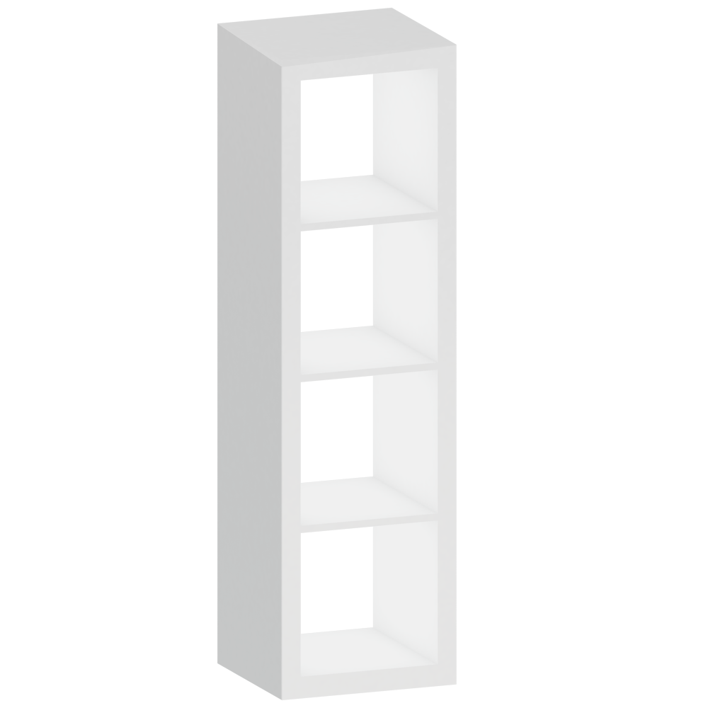 Cad And Bim Object Kallax White Shelf Ikea # Kallax Blanc