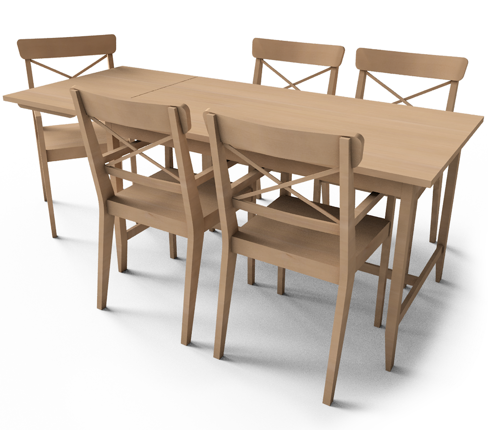 cad i bim objekat leksvik dining table ikea. Black Bedroom Furniture Sets. Home Design Ideas