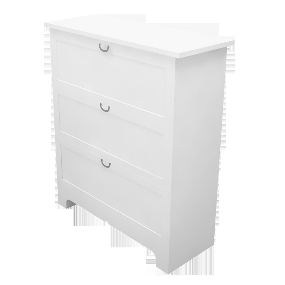 buy online b93d7 349ee BIM object - ASPELUND 3 Drawer Chest - IKEA