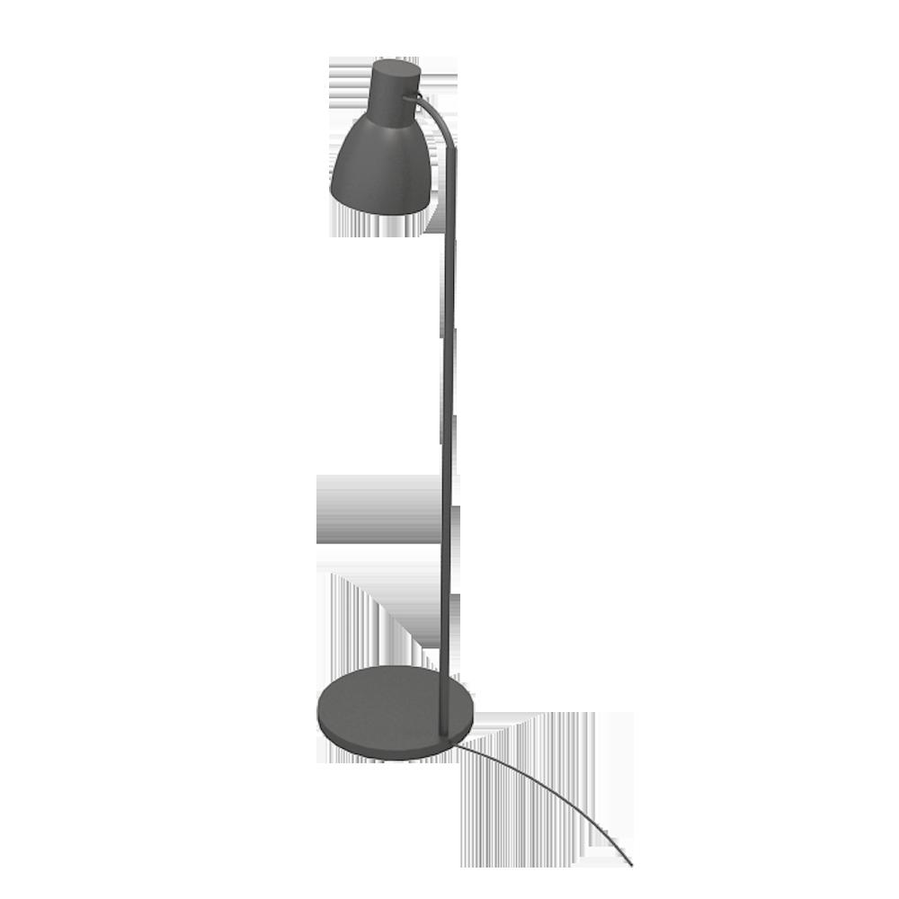 objets bim et cao hektar lampadaire ikea. Black Bedroom Furniture Sets. Home Design Ideas