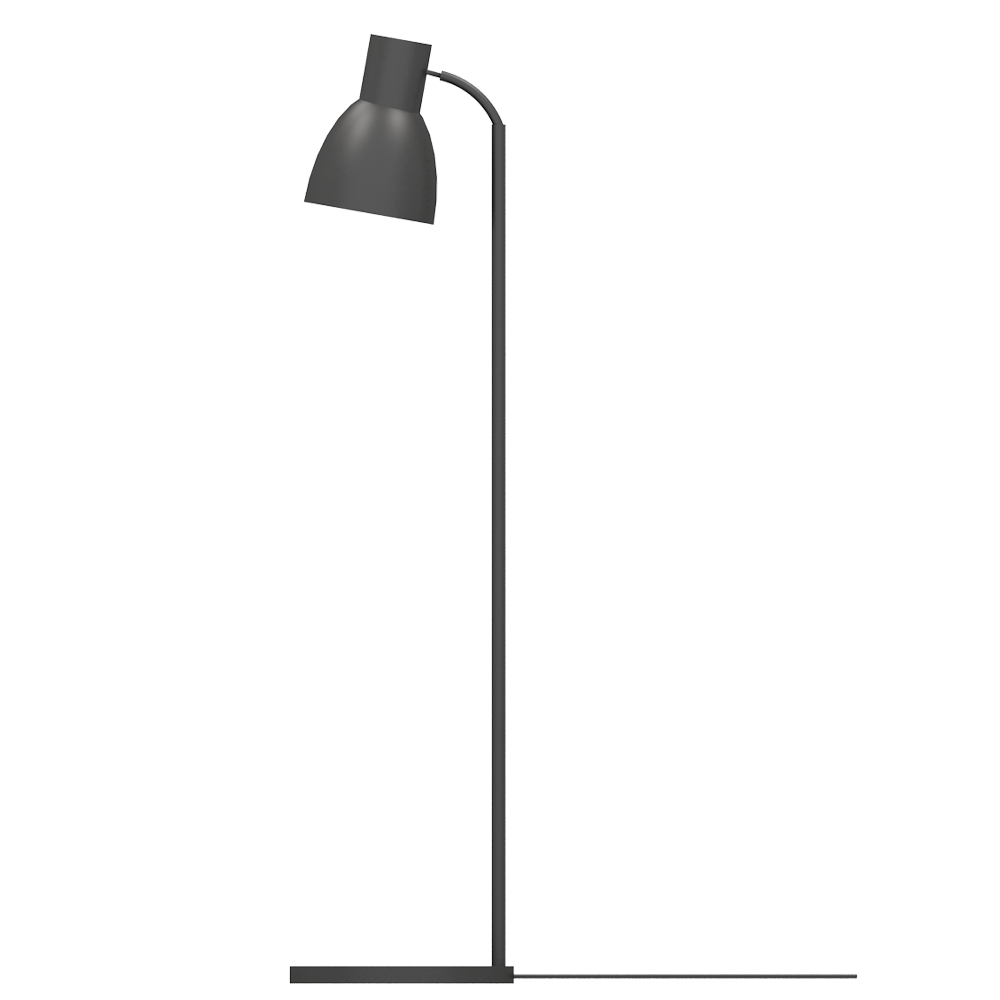 CAD and BIM object HEKTAR Floor Lamp IKEA