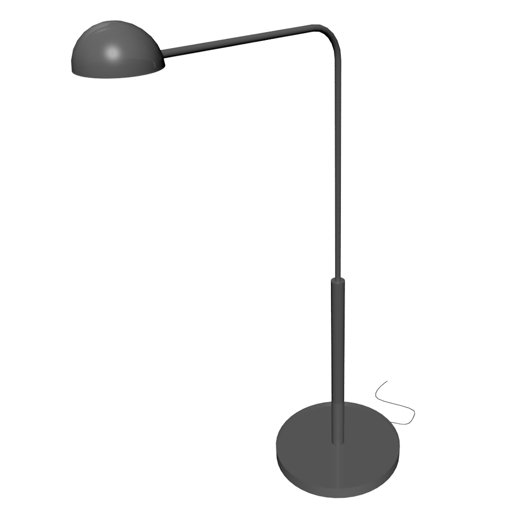 cad and bim object 365 brasa floor lamp ikea. Black Bedroom Furniture Sets. Home Design Ideas