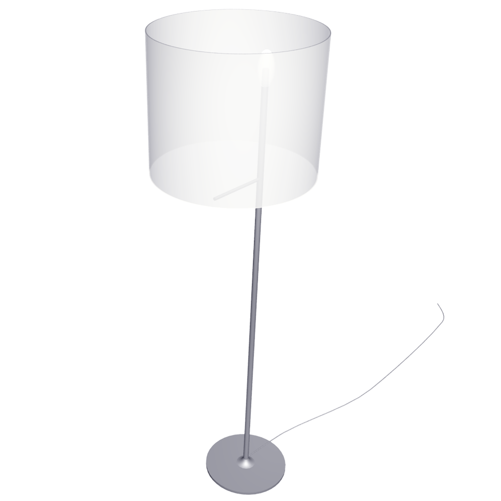IKEA STOCKHOLM Floor Lamp  3D View