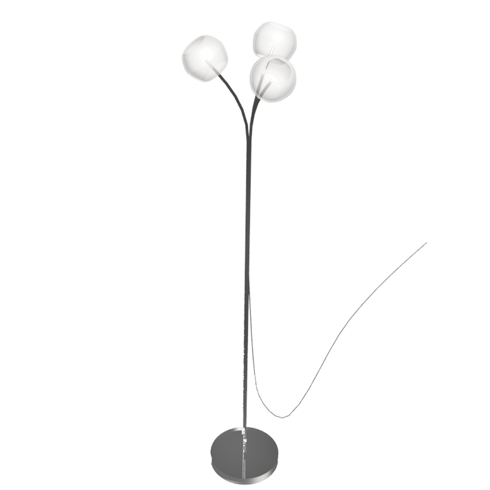 Cad And Bim Object Minut Floor Lamp Ikea