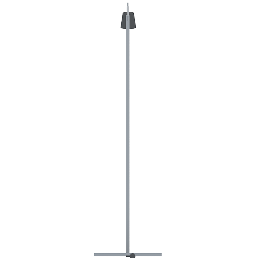 CAD and BIM object NYFORS Floor Lamp 2 IKEA