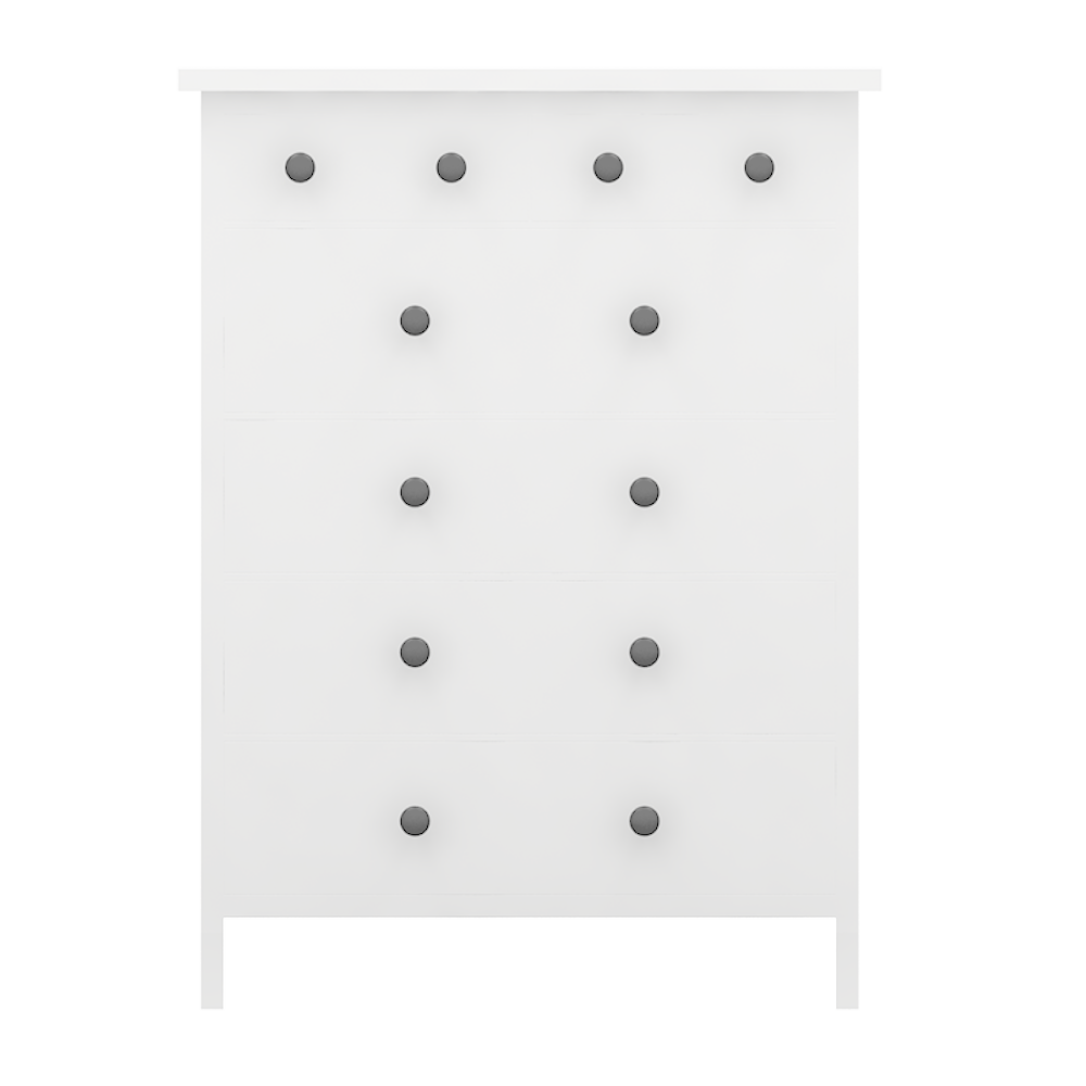 Cad and bim object hemnes commode 6 tiroirs variante 2 ikea - Commode 6 tiroirs blanche ...