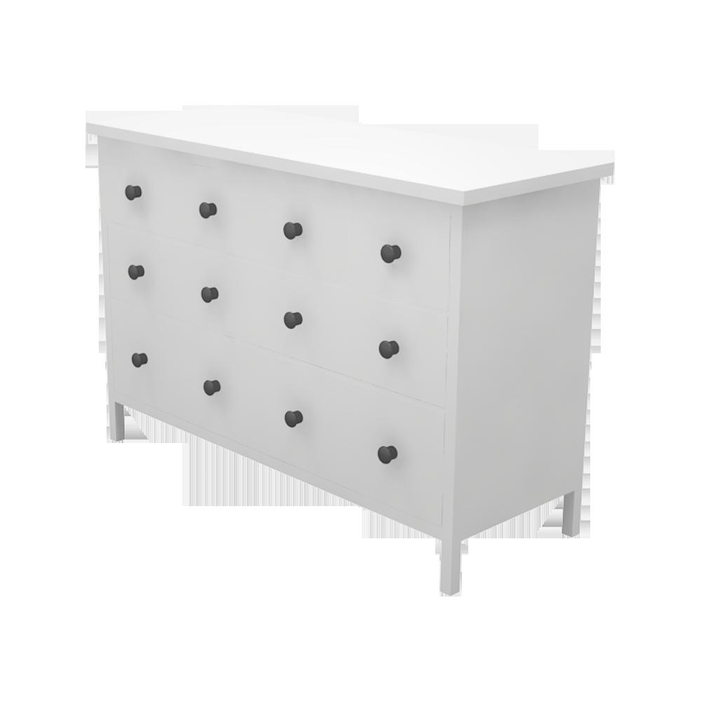 objets bim et cao hemnes commode 8 tiroirs variante ii ikea. Black Bedroom Furniture Sets. Home Design Ideas