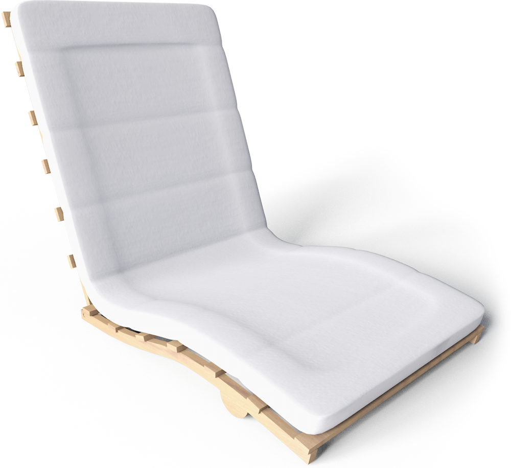 Grankulla Futon Armchair  3D View