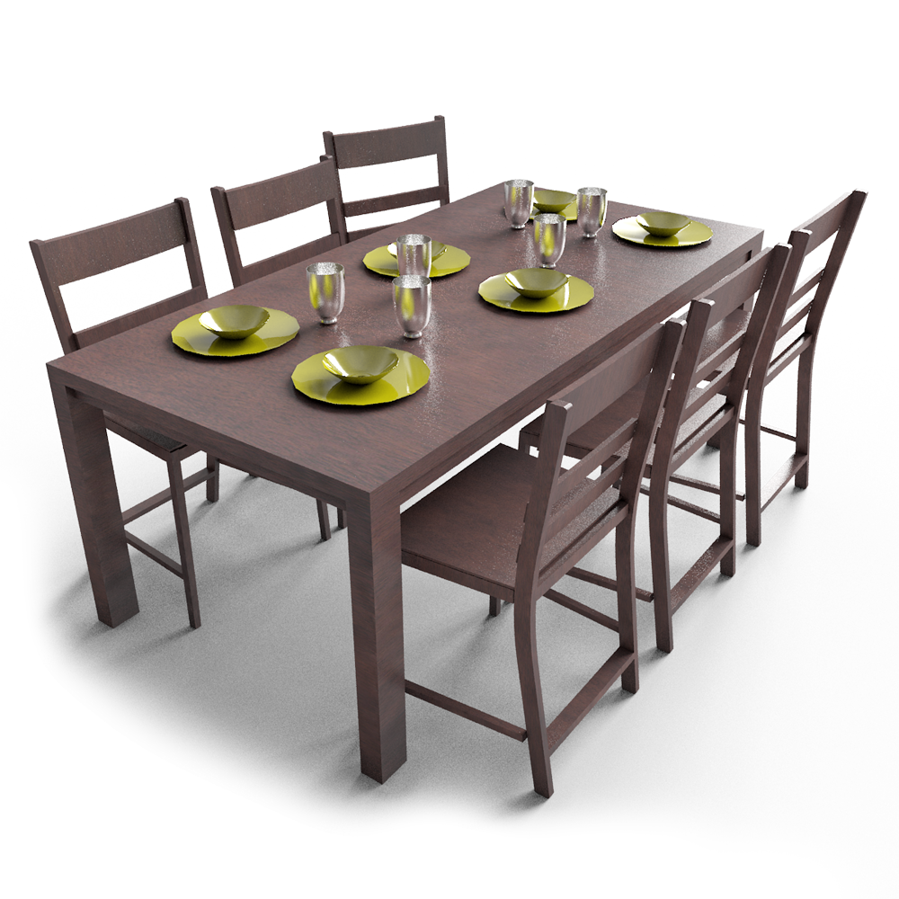 CAD and BIM object - Markor Dining Table