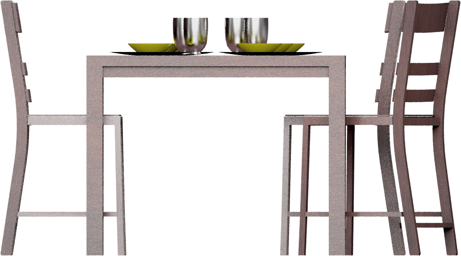 CAD and BIM object - Markor Dining Table - IKEA