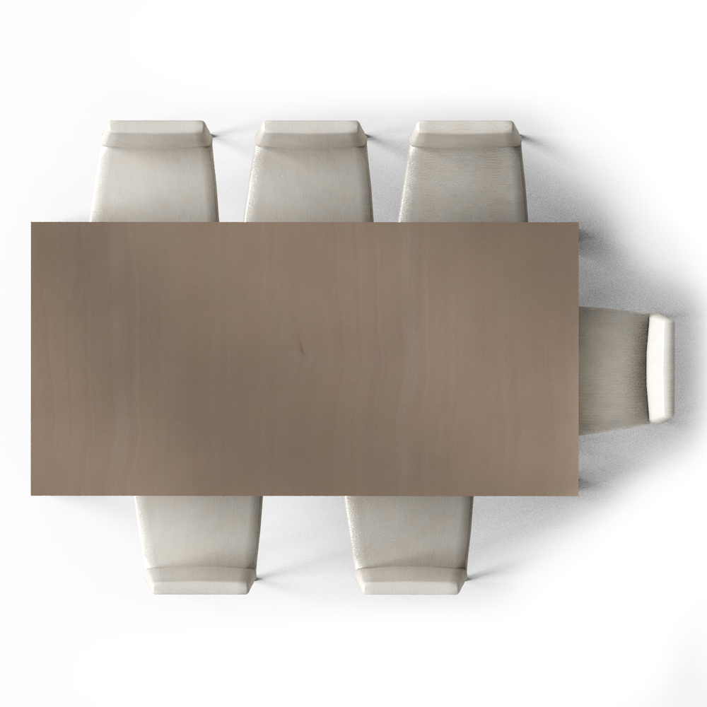 Dining Chair Top View Interior Design