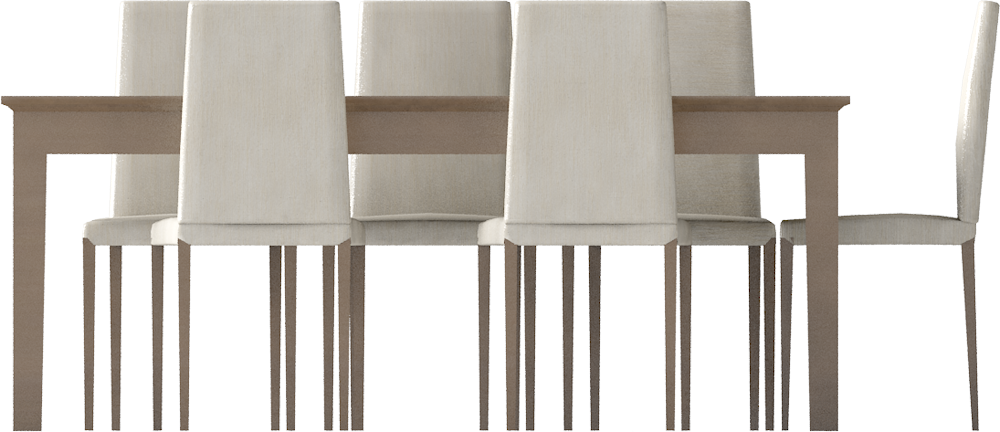 CAD and BIM object  Markor Dining Table 2  IKEA