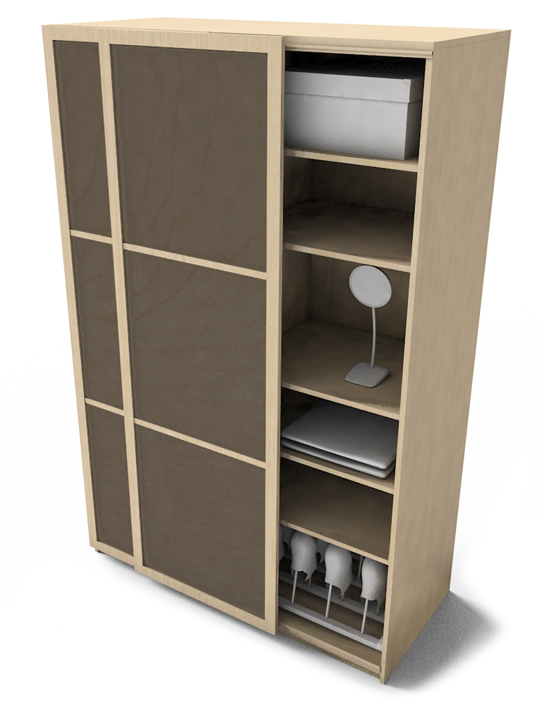 Bim Object Pax Eikesdal Wardrobel Ikea