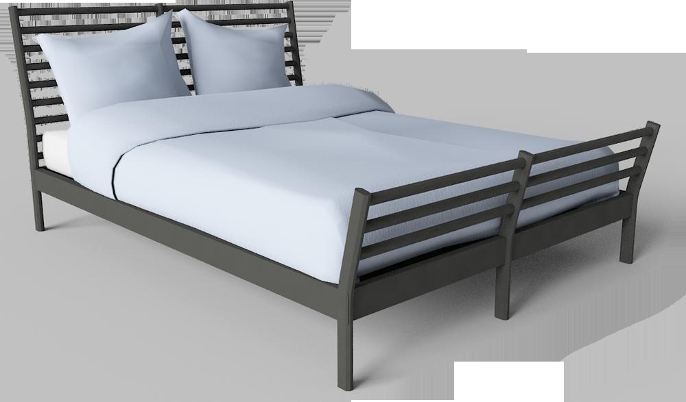 Sorum Queen Bed Frame  3D View