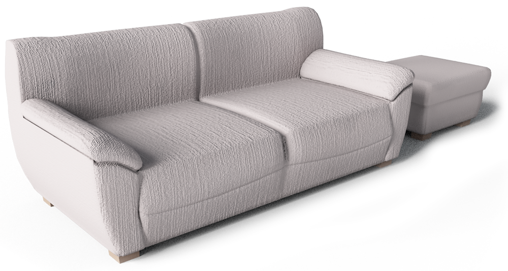 Vreta 2 Seat Sofa and Footstool