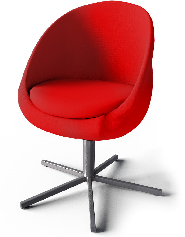 sc 1 st  Polantis & CAD and BIM object - Skruvsta Swivel Chair - IKEA