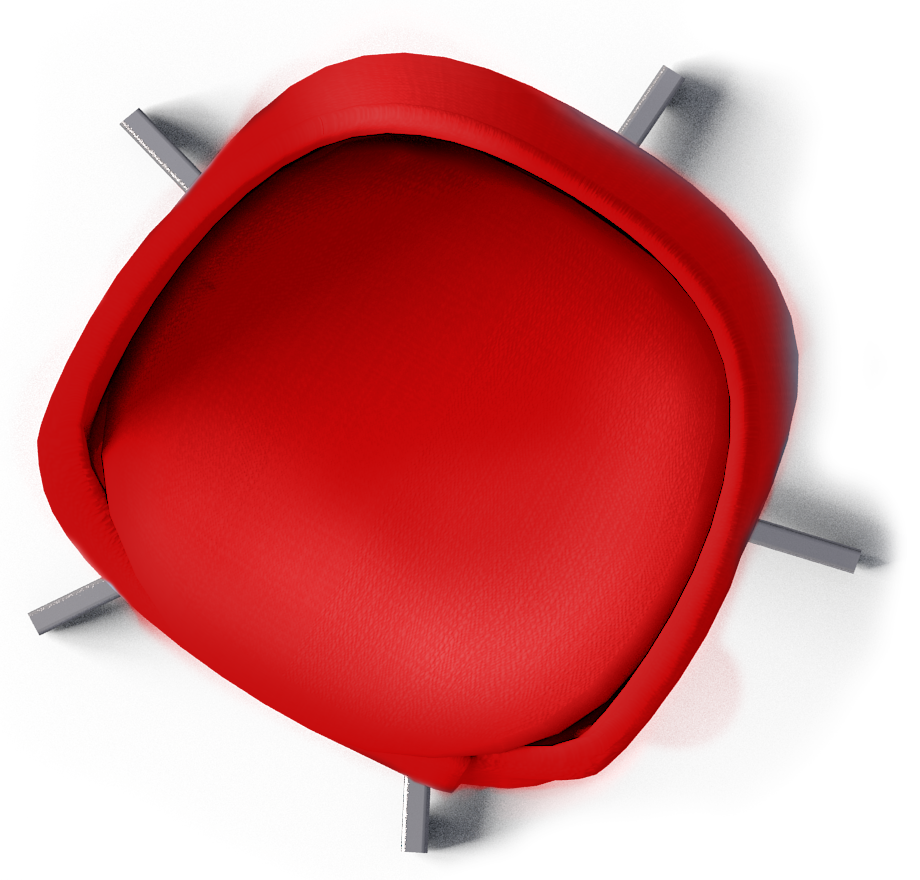Office Chair Top View Clipart