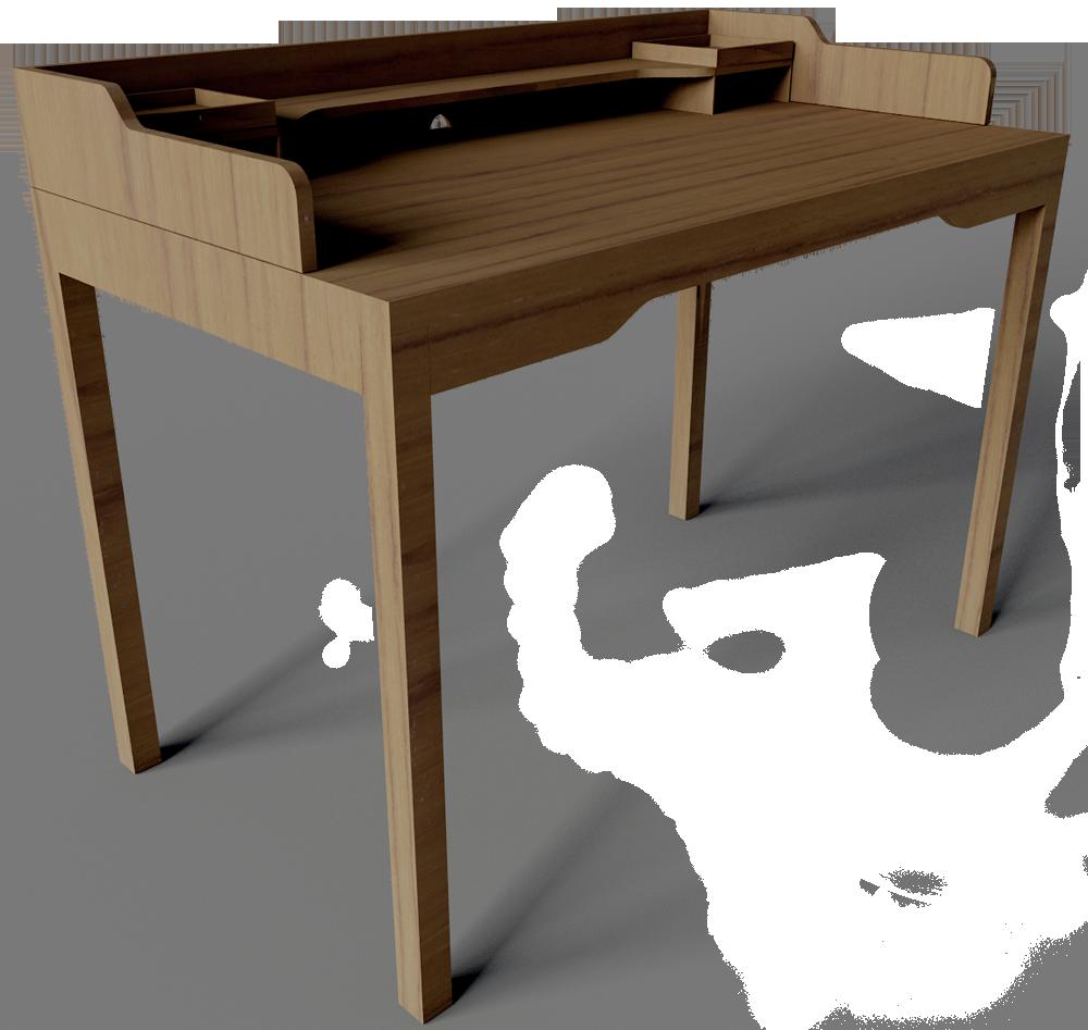 objeto cad e bim gustav desk ikea