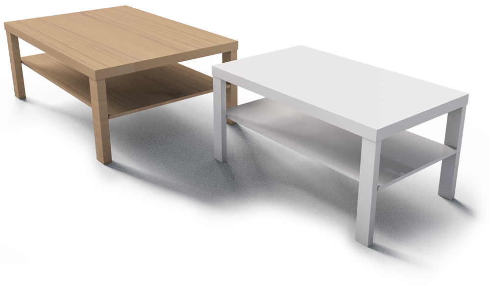 Cad And Bim Object Lack Coffee Table Ikea