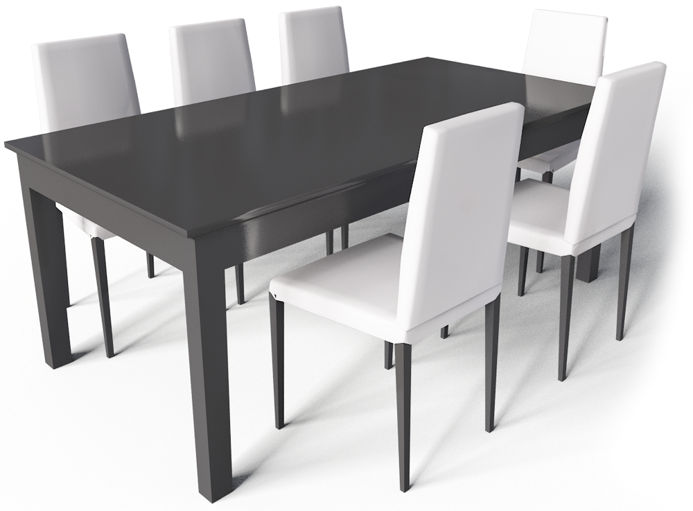 Cad and bim object markor table and chairs ikea for Table d angle ikea