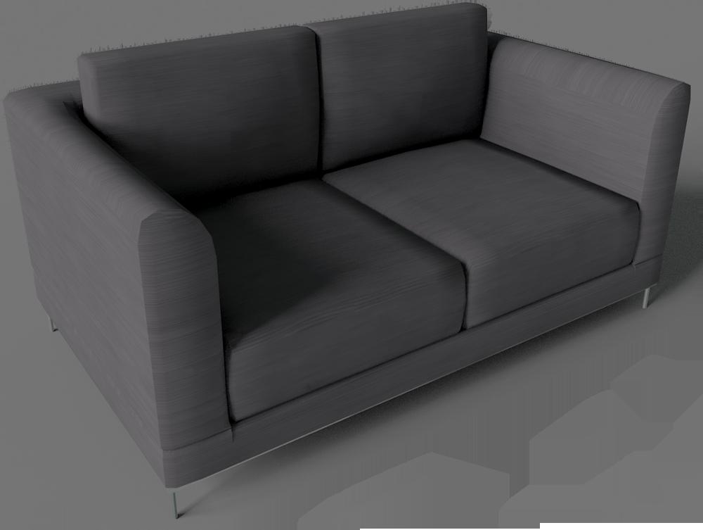 Cad Und Bim Objekte Arild 2 Sitzsofa Ikea