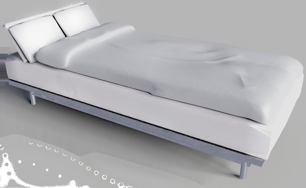 Beddinge Sofa Bed Frame  3D View