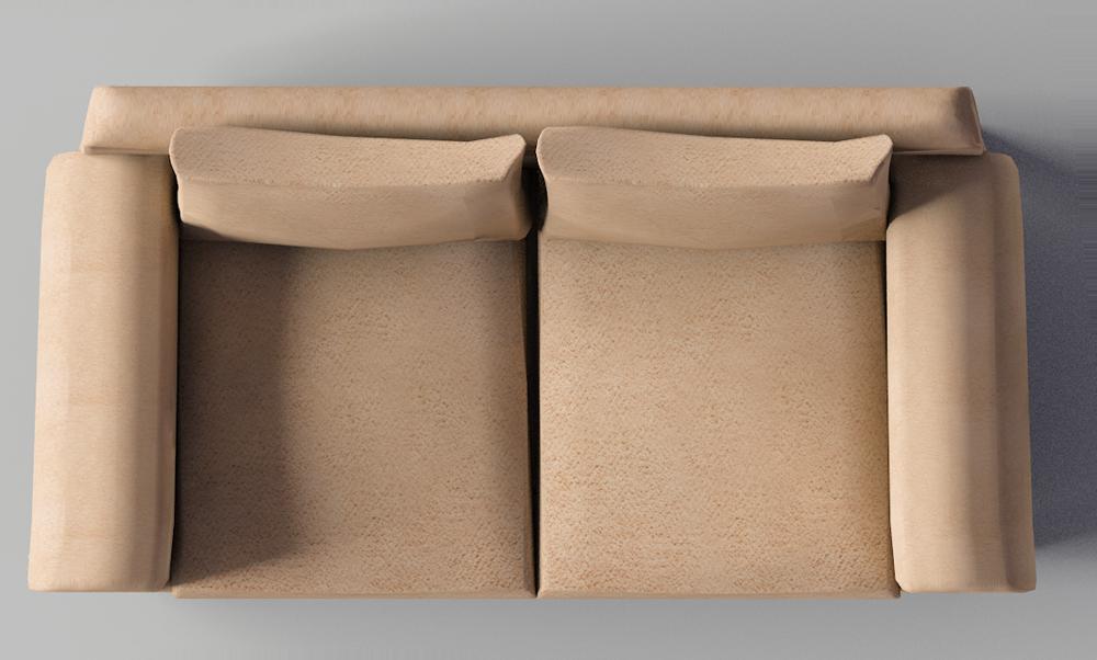 Cad and bim object fothult 2 seat sofa ikea - Sofas pequenos ikea ...