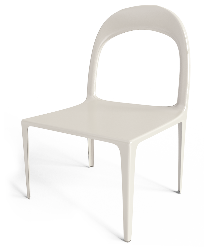 CAD and BIM object Urban Chair White IKEA : IKEA UrbanChairWhite 3D from www.polantis.com size 856 x 1000 png 617kB