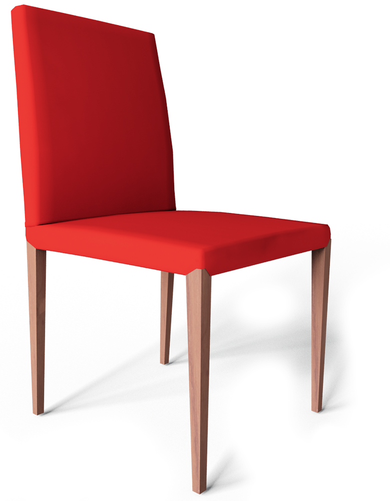 HENRIKSDAL Chair Red