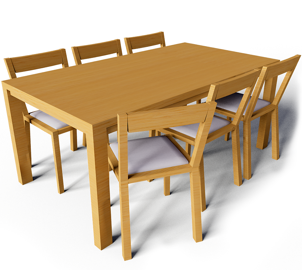 Objeto cad e bim bjursta table and roger chairs ikea - Table d exterieur ikea ...