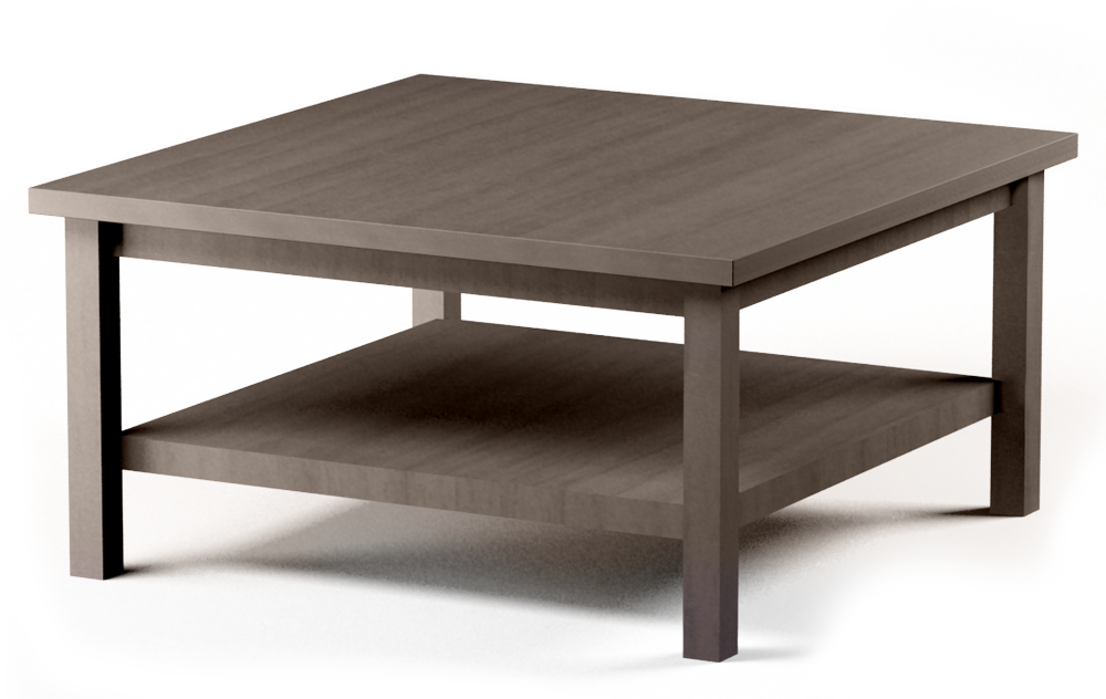 CAD and BIM object HEMNES Coffee Table Brown IKEA