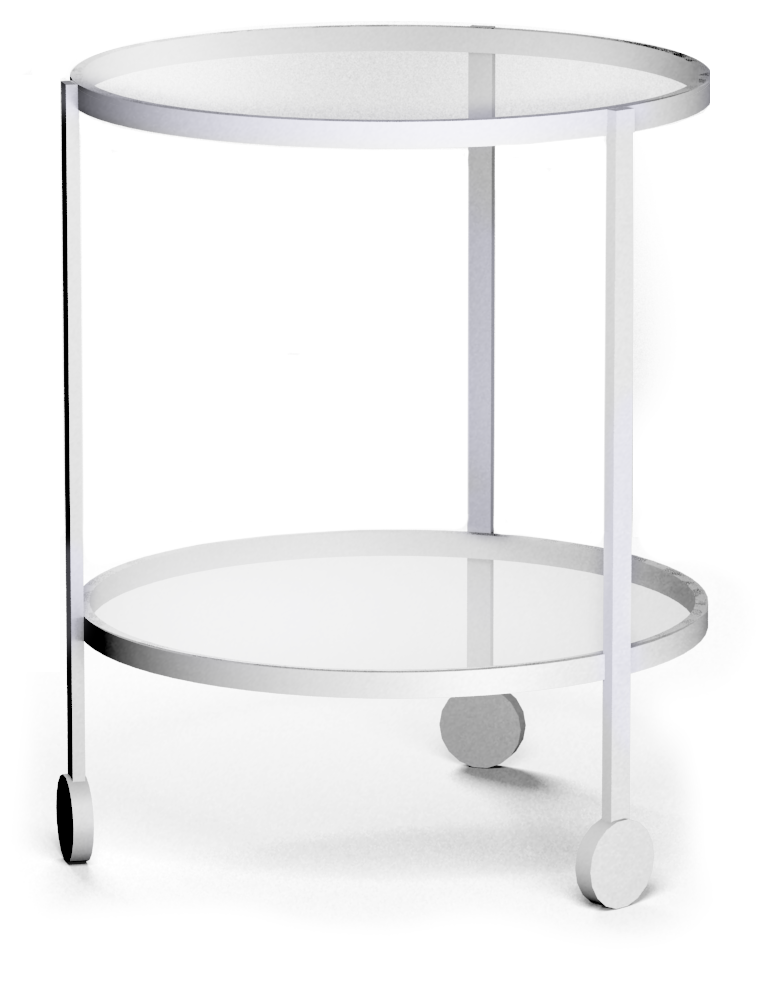 Cad and bim object strind side table round ikea for Table ikea 4 99