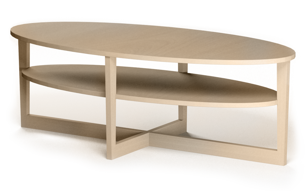 VEJMON coffee table wooden  3D View
