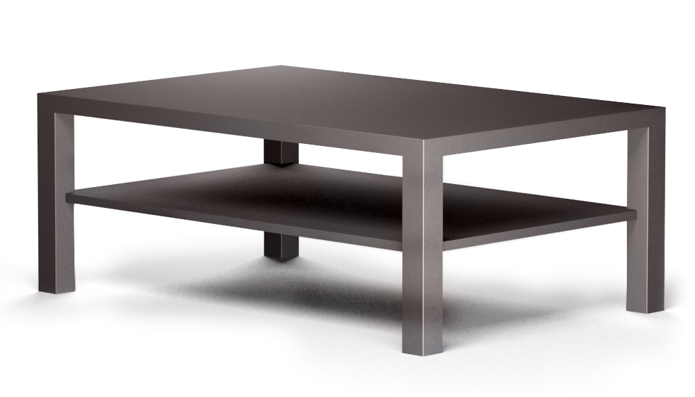 Cad And Bim Object Lack Coffee Table Dark Ikea