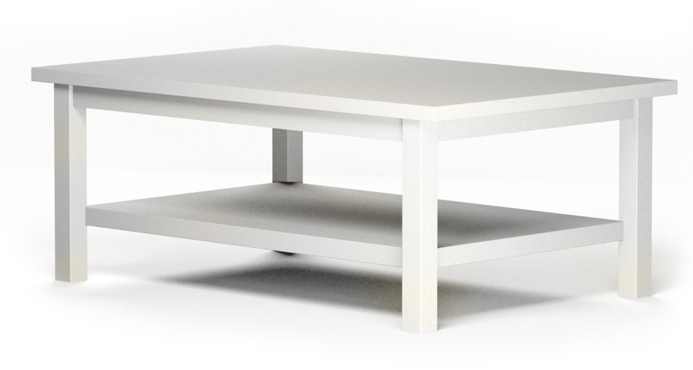 HEMNES Coffee Table  3D View