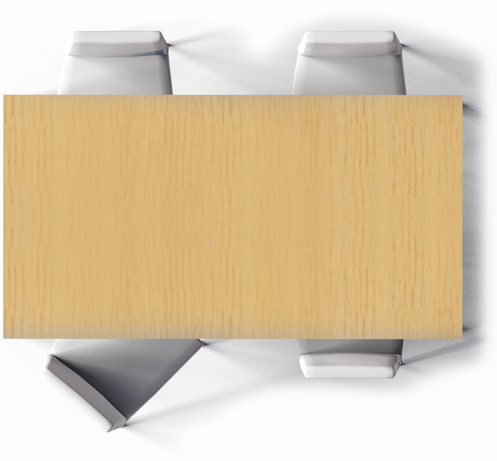 dining table top view png