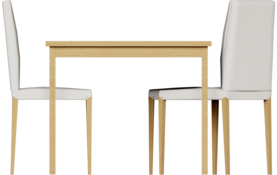 Extendable Dining Table  Left