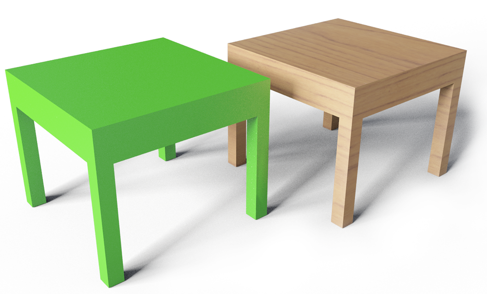 Cad And Bim Object Lack Side Table Ikea