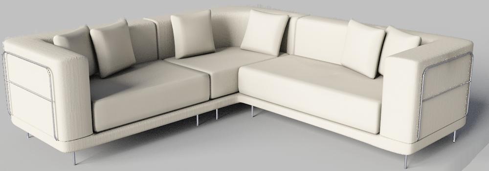 BIM object - Tylosand Corner Sofa - IKEA