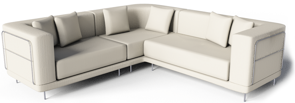 Cad and bim object tylosand corner sofa ikea for Ikea corner sofa